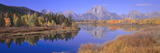 Grand Tetons Reflected in Oxbow Bend  Wyoming