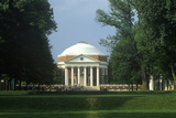 Exterior of Rotunda at University of Virginia Designed by Thomas Jefferson  Charlottesville  VA