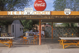 Roadside Diner on Historic Route 66  Seligman  AZ