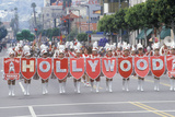St Patrick's Day Parade on Hollywood Blvd  Los Angeles  California