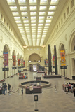 Interior of Field Museum of Natural History  Chicago  Illinois
