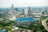 Aerial View of Ericcson Stadium and Charlotte  Nc