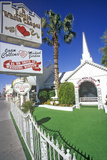 Little White Wedding Chapel  Las Vegas  NV