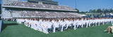 Graduation at Naval Academy  Annapolis  Maryland