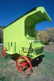 Lime Green Antique Wagon  Dolores  CO