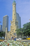Old 1869 Chicago Water Tower  Chicago  Illinois