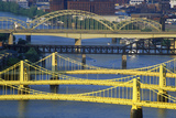 Bridges over the Allegheny River  Pittsburgh  PA