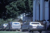 Hearse at a Funeral  St Martinville  La