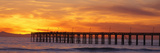 Ventura Pier and Pacific at Sunset  Ventura  California