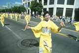 Geisha Dancers at the 49th Nisei Week Parade in Little Tokyo  Los Angeles  CA