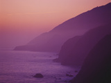 Purple Sunset Along Pacific Coast Highway  California