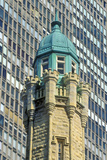 Top of the Water Tower  Chicago  Illinois