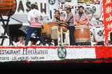 Japanese Drummers Performing at the 49th Nisei Week Parade in Little Tokyo  Los Angeles  CA