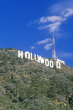 """Hollywood"" Sign on the Hillsides of Hollywood  Los Angeles  California"