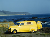 Bright Yellow Truck Along Pacific Coast Highway  California
