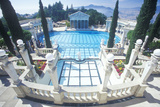 Neptune Pool at Hearst Castle  San Simeon  Central Coast  California