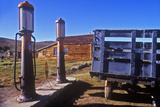 Antique Gas Pumps  Bodie  CA