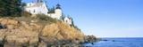 Lighthouse at Bass Harbor Head  Acadia National Park  Maine