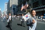Korean Day Parade on Lower Broadway  Ny City