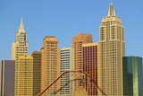 Roller Coaster Ride in New York New York Casino in Las Vegas  NV