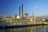 Spirit of America' River Boat on the Ohio River in Cincinnati  Oh