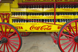 Old Coca-Cola Soda Wagon Antique in Central Ga Off Highway 22