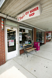 "Floyd's City Barber Shop in Mount Airy  North Carolina  the Town Featured in ""Mayberry Rfd"""