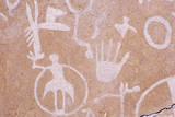 Petroglyphs  Newspaper Rock  Southern Ut