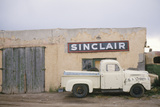 Abandoned Gas Station and Antique Pickup Truck  NM