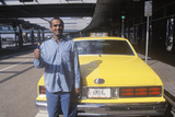 Pakistani Taxi Cab Driver at the Airport  NY