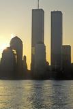 Sunrise over Manhattan  New York City  Ny from New Jersey
