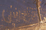 Petroglyphs of Fish Scales  Newspaper Rock  Southern Ut