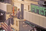 Opening Bell on New York Stock Exchange  Wall Street  New York  NY