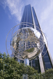 Sculptor of Earth in Front of Trump Towers in Manhattan  New York City  New York