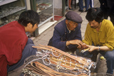 Belts and Leather Goods for Sale in Kunming  Yunnan Province  People's Republic of China