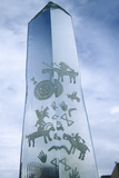 Ice Displays with Pictographs During 2002 Winter Olympics  Salt Lake City  Ut