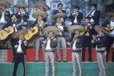A Mariachi Band Performs for the Clinton/Gore 1992 Campaign  San Antonio  Tx