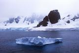 Glaciers and Icebergs in Errera Channel at Culverville Island  Antarctica