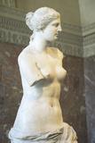 Statue of Venus De Milo (Aphrodite)  Greece  Ca 150-125 BC at the Louvre Museum  Paris  France