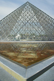 Exterior of the Louvre Museum  Paris  France