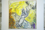 Painting by Marc Chagall  Marc Chagall Museum  Nice  France