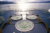Jacuzzi on Deck of Cruise Ship Marco Polo  Antarctica