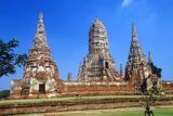 Wat Chang Lom Ancient Buddhist Temple at Sri Satchanaiai Historical Park  Thailand