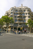 Casa Milà Barcelona - La Pedrera  by Antoni Gaudi  Built Between 1905-1911  Barcelona  Spain