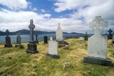 Gravestones in Kilcatherine Church Cemetery  Cork  Ireland