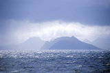 View from Antarctica across Drake Passage of Cape Horn and Tierra Del Fuego