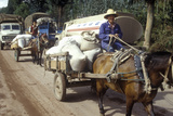 Traffic Jam on Road to Kunming from Dali  Yunnan Province  People's Republic of China