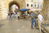 Outdoor Market  in Aix En Provence  France