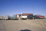 Pickup Trucks on Navajo Indian Reservation in Shiprock  NM