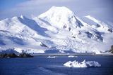 Iceberg Near Half Moon Island  Bransfield Strait  Antarctica
